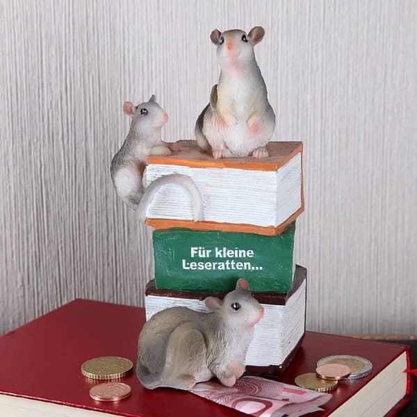 Spardose Für kleine Leseratten