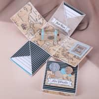 Reise - Überraschungsbox für Gutscheine und Geldgeschenke