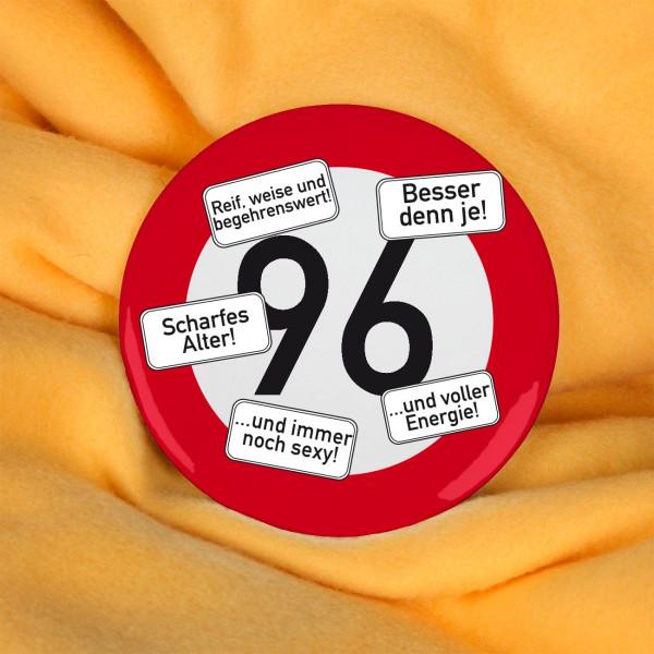 Button zum 96. Geburtstag