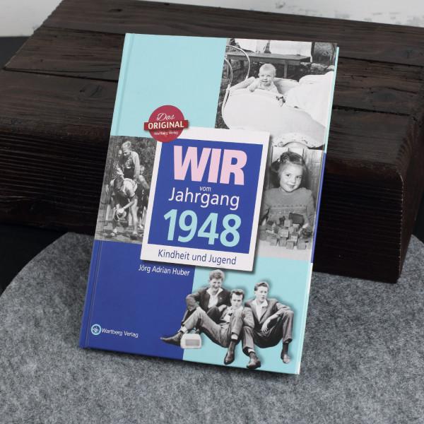 Jahrgangsbuch 1948 Kindheit und Jugend