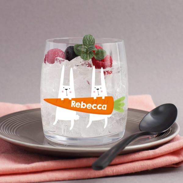 Trinkglas mit Ostermotiv
