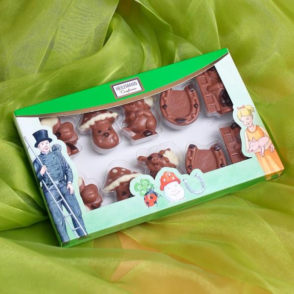 Schokoladen Figuren – Glücksbringer