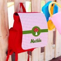 Kindergartenrucksack für Glückspilze