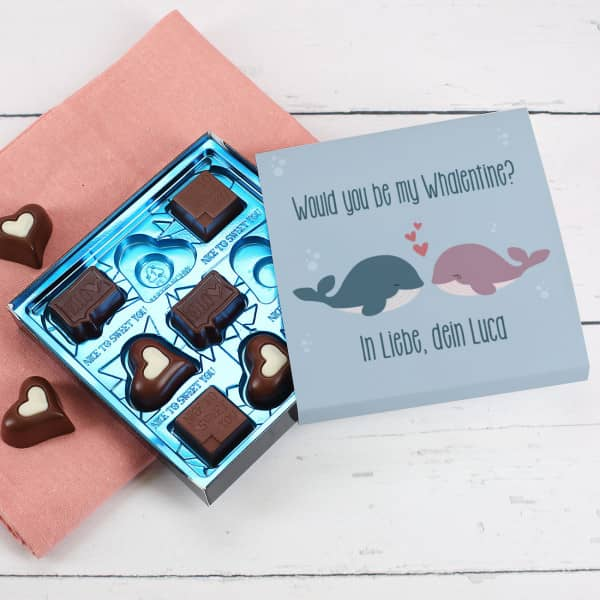 Individuellleckereien - Lindt Schokolade zum (W)Valentinstag - Onlineshop Geschenke online.de