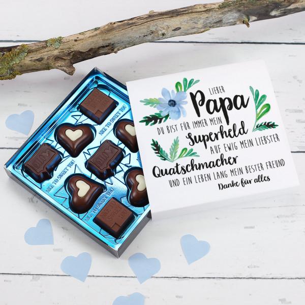 Lierb Papa Vatertagsschokolade mit Wunschtext