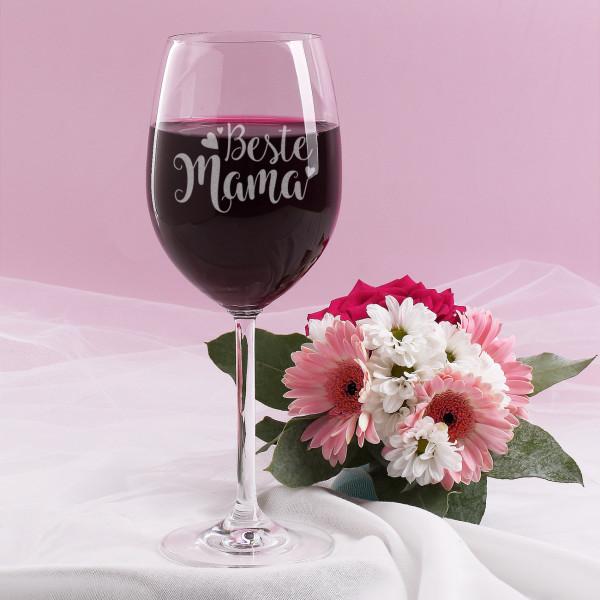 - Weinglas ''Beste Mama'' - Onlineshop Geschenke online.de