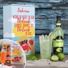 Urlaub in der Box - Caipi oder Sex on the Beach Set mit Ihrem Wunschnamen
