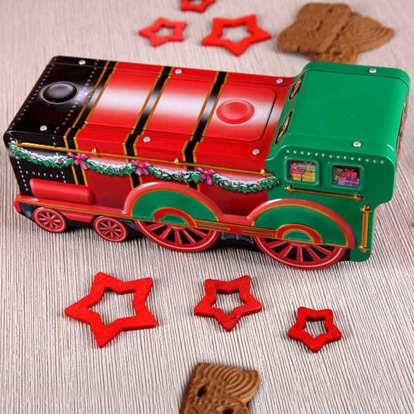 Weihnachts-Lokomotive
