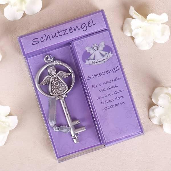 Schutzengel Schlüssel fürs neue Heim