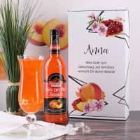 Cocktail-Set mit graviertem Glas in persönlicher Verpackung