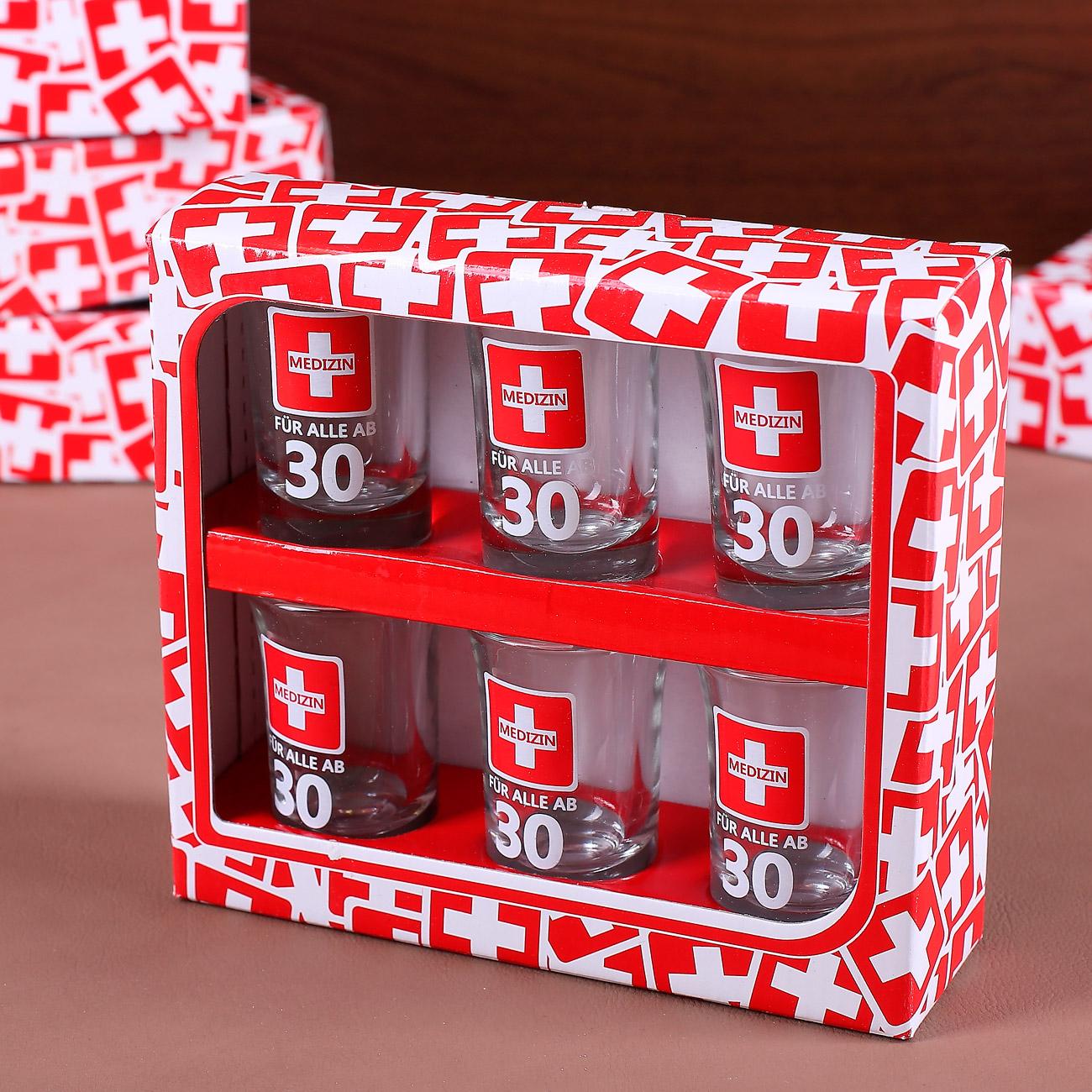 bedruckte schnapsgl ser zum 30 geburtstag geschenke. Black Bedroom Furniture Sets. Home Design Ideas