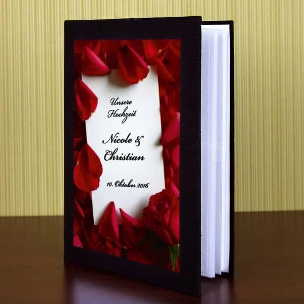 personalisiertes Fotoalbum zur Hochzeit