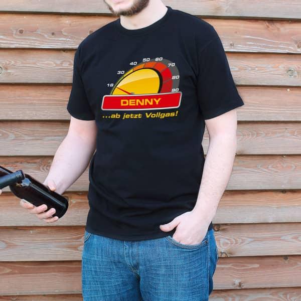 T Shirt Vollgas zum 18. Geburtstag