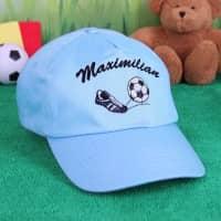 Basecap mit Wunschnamen für Jungen, Fußball