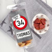 Herzhafte Kleinigkeit zum Geburtstag - Salami Cracker