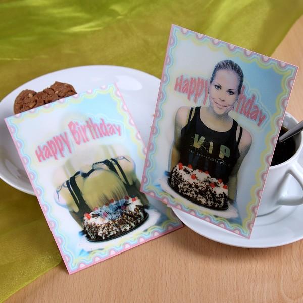 Wackelkarte zum Geburtstag