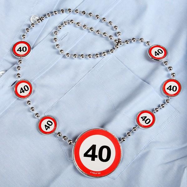 Partykette zum 40. Geburtstag