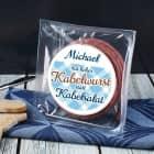 Kabeltrommel Snack Wurst - Kabelwurst statt Kabelsalat - mit Name