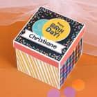 Happy Birthday - Überraschungsbox zum Geburtstag Explosionsbox