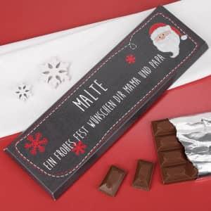 Personalisierte XXL Schokolade