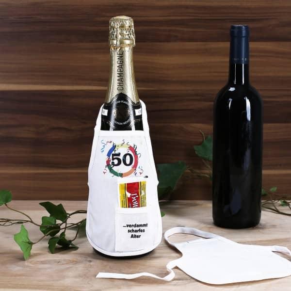 Flaschenschürze: 50 - verdammt scharfes Alter