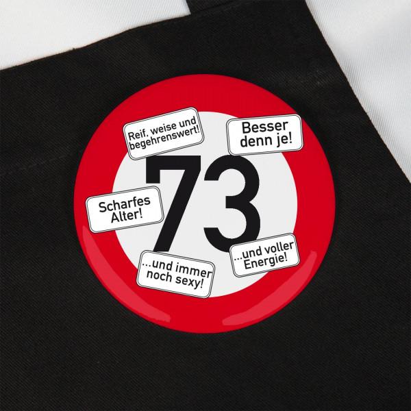 Button zum 73. Geburtstag