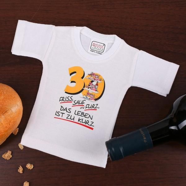 Flaschenverpackung T-Shirt 30