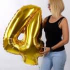 Riesiger Folienballon in Gold - 4