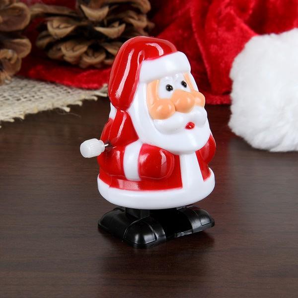Laufender Mini-Weihnachtsmann zum aufziehen