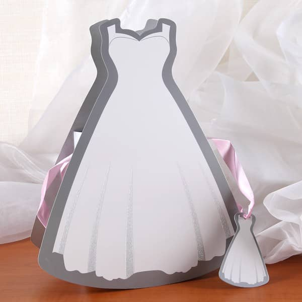 Geschenktüte - Brautkleid
