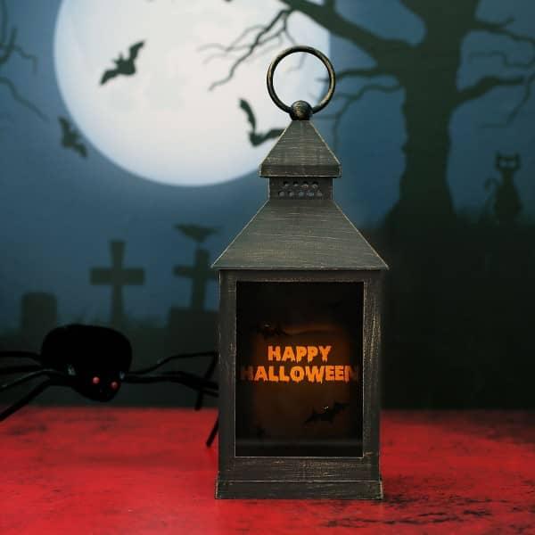 LED Laterne zu Halloween mit persönlichem Druck