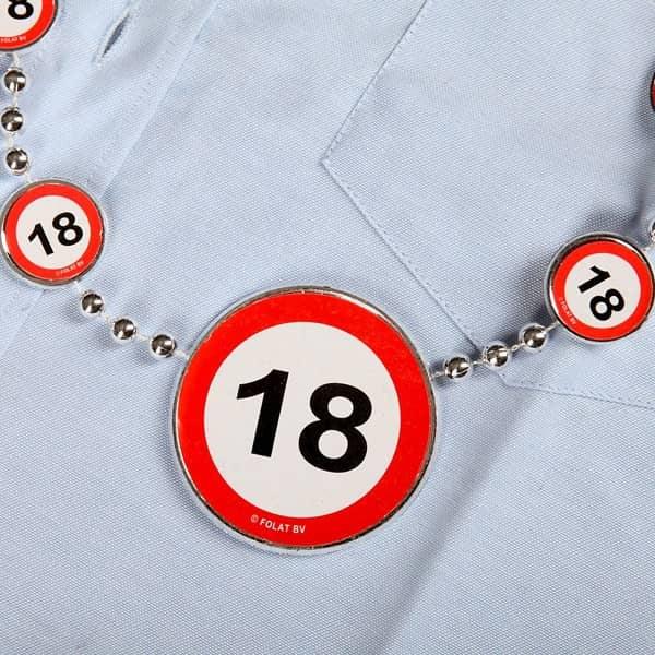 Partykette zum 18. Geburtstag