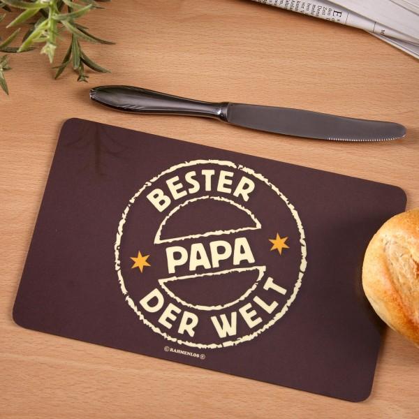 Brettchen - Bester Papa