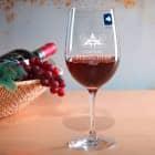 Graviertes Weinglas Chateau mit Name