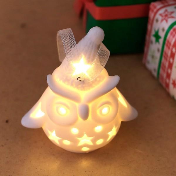 Weihnachtseule LED