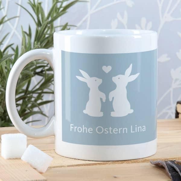 Oster-Hasen Tassen für Verliebte