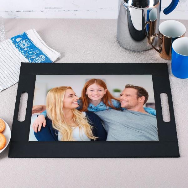 Tablett mit Foto bedruckt