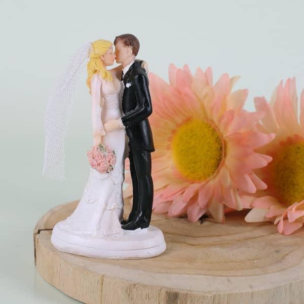 Küssende Hochzeitsfigur