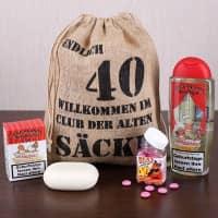 Geburtstagsgeschenk Set 40 (4-Teilig)