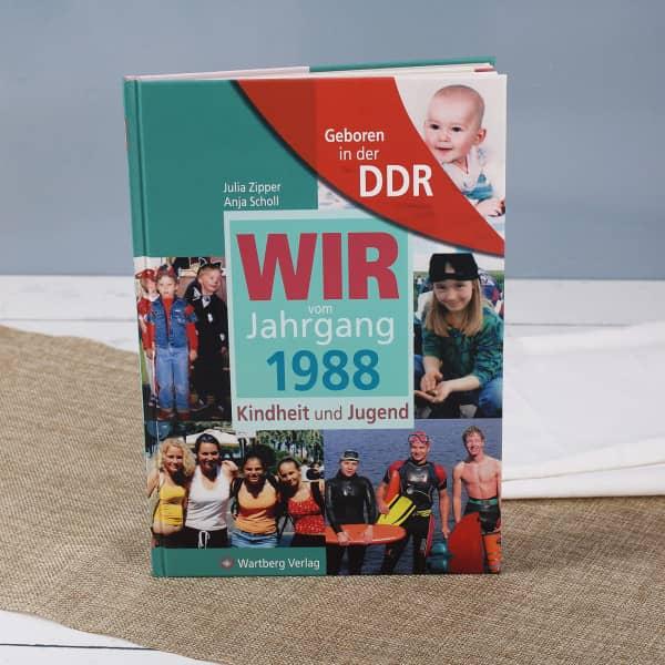 Jahrgangsbuch 1988 Geboren in der DDR
