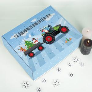 Adventskalender für Kinder zum selber befüllen