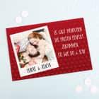 Liebes-Puzzle mit Foto und Wunschtext, 120 Teile