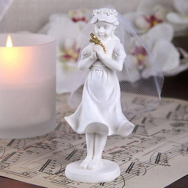 Figur - betendes Mädchen