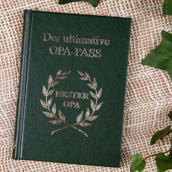 Spaßbuch Der ultimative Opa Pass