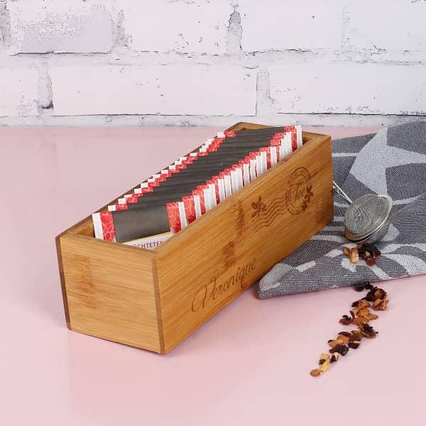 Kleine Box für Teebeutel
