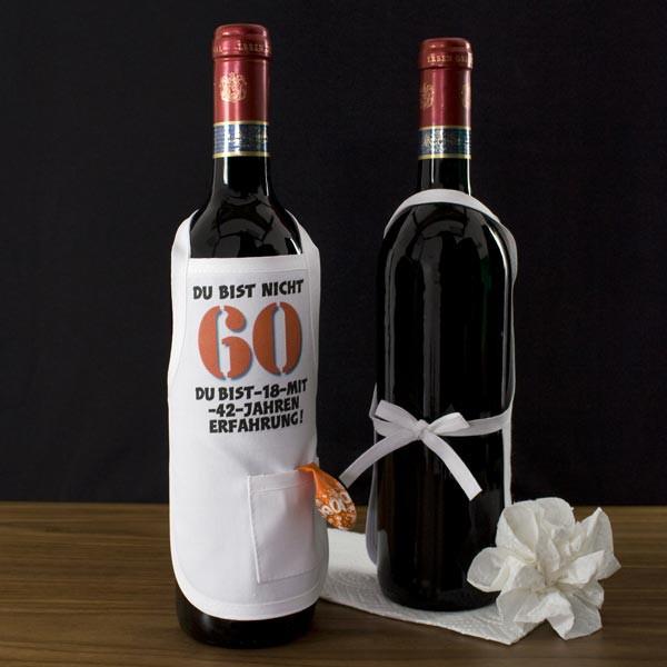 Mini Schürze zum 60. Geburtstag
