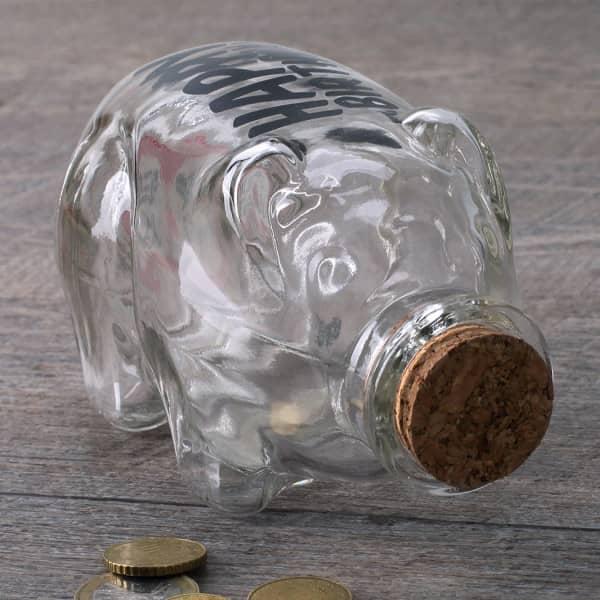 Flaschenpost Sparschwein - Alles Gute
