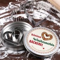 Plätzchen Ausstecher in Herzform für die kleine Weihnachtsbäckerei