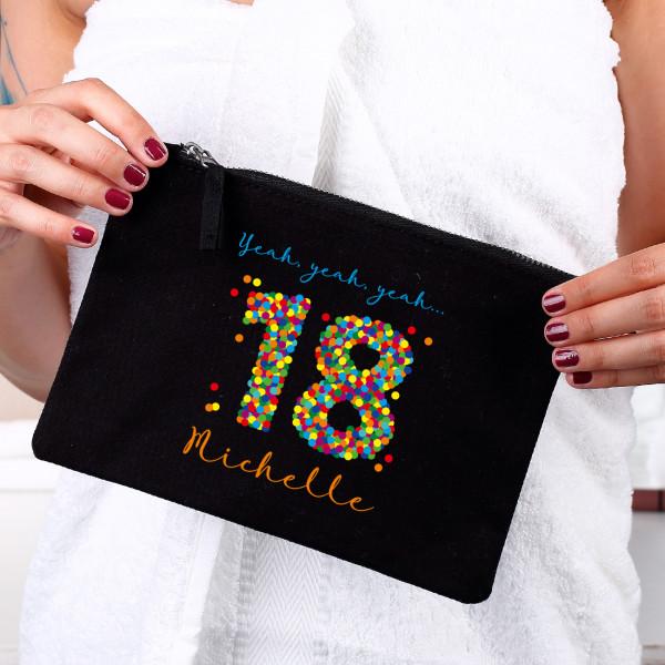 Persönliches Beautycase zum 18. Geburtstag