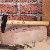 Gravierter Hammer zum Geburtstag mit Name und Alter